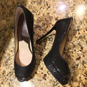 "💥 Hot! Michael Kors Black sequenced 5"" heels"